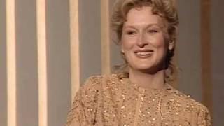 Meryl Streep Wins Best Actress: 1983 Oscars
