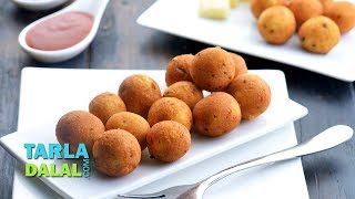 Cheese Balls, Veg Starter Recipe by Tarla Dalal