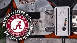 How Alabama football uses top of the line GPS technology to track player performance
