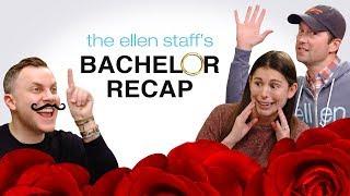 The Ellen Staff's 'Bachelor' Recap: Arie Is the New Bachelor!