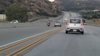 Driver Captures Road Rage Incident in Santa Clarita