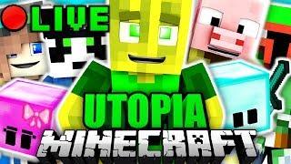Minecraft UTOPIA ABENTEUER LIVESTREAM!!
