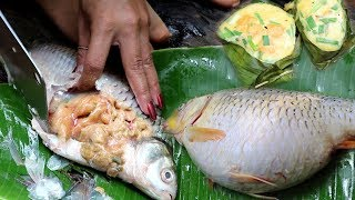Fish Eggs  Recipes - Fish Egg Spicy Fry by Woman Cooking
