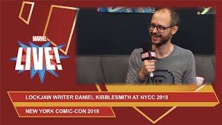 Lockjaw writer Daniel Kibblesmith tells us who