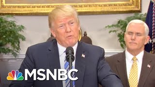 'Deflated Attitude' At White House Amid Reports Of Looming Shakeups | MTP Daily | MSNBC