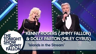 Jimmy Fallon and Miley Cyrus Recreate Kenny Rogers and Dolly Parton