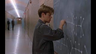 【越哥】天才清洁工,只用一分钟,就解出了大学教授两年才解出的难题!速看豆瓣8.8分经典电影《心灵捕手》