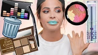 FULL FACE OF MAKEUP IM THROWING OUT 2018