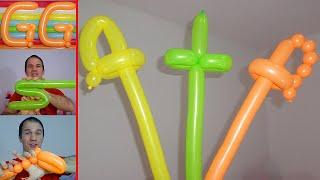 Figuras De Globos Faciles Good Globoflexia Abeja With Figuras De - Figuras-con-globos-faciles