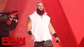 """The Bar meet """"Brains Strowman"""": Raw, April 2, 2018"""