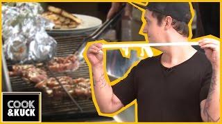 Fettes BARBECUE selber grillen - mit genialen Gästen! - Cook&Kuck #1