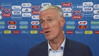 Didier DESCHAMPS – France - Final Draw Reaction