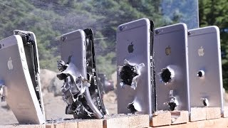 How Many iPhones Does It Take To Stop an AK-74 Bullet?