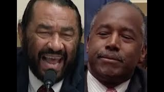 """ANSWER THE QUESTIONS!!!"" Al Green GETS PISSED OFF & DESTROYS Ben Carson on Trump"