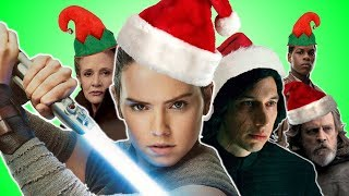 ♪ THE LAST JEDI CHRISTMAS SONG - Music Video Parody