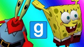 Gmod Hide and Seek - Spongebob Edition! (Garry