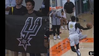 DeMar DeRozan VS Nick Young Turns Into Young KOBEs Battle Infront Of Spurs Fans!