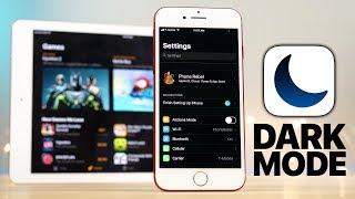 iOS 11 Dark Mode Review!