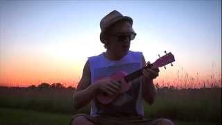 Little Joanna...on my little pink ukulele