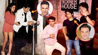 Akshay Kumar Son Aarav CAUGHT Drunk With Sohail Khan Son & Remo D