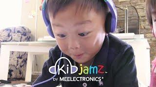 KidJamz Safe Listening Headphones for Kids by MEElectronics (Short version)