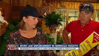 More law enforcement in Seminole Heights