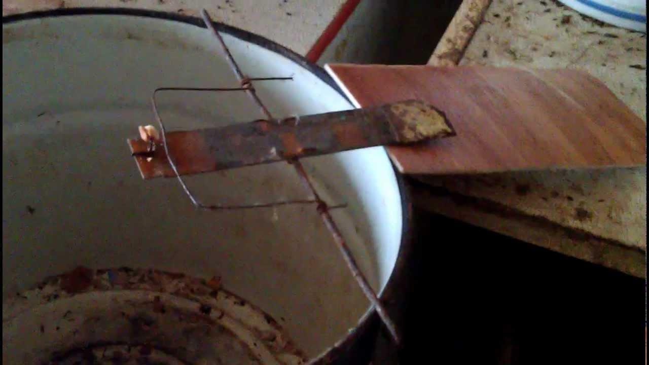 Как сделать ловушку из бочки
