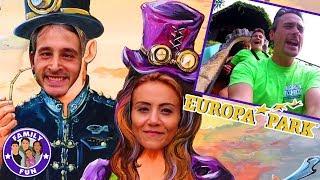 MEGA EUROPA-PARK SPAß - Achterbahnen und Adrenalin Kicks - Teil 2 | Family Fun