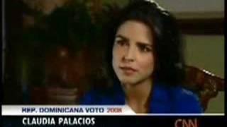 LEONEL FERNÁNDEZ - ENTREVISTA CNN - CLAUDIA PALACIOS 1/4