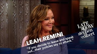 Leah Remini Argues That Scientology Isn