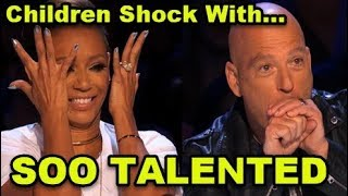 10 *MOST TALENTED KIDS* Auditions Ever on America