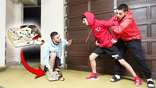 I DESTROYED FAZE RUG'S 10 MIL SUBSCRIBER DIAMOND!! *HE FLIPPED OUT*