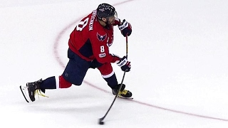 Ovechkin gets one back to cut Crosby, Penguins