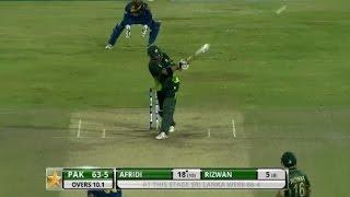 Highlights: 2nd T20I at Colombo, RPICS – Pakistan in Sri Lanka 2015