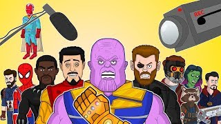 AVENGERS INFINITY WAR THE MUSICAL - Behind The Scenes