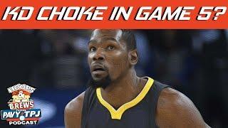 Was Durant Bad in Game 5 vs Rockets ? | Hoops N Brews