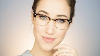 EVERYDAY MAKEUP FOR GLASSES | ALLIE G BEAUTY
