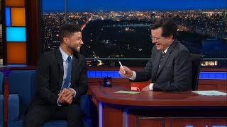 Jussie Smollett Talks