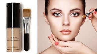 How to Apply Foundation and Concealer for Beginners   Perfect Face Makeup Tutorial   Step by Step