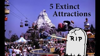 5 EXTINCT Disneyland Attractions That We All Miss