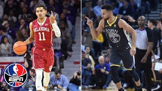 Can Trae Young follow in Steph Curry