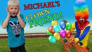 Creepy Clown Kidnaps Michael!!