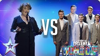 Susan Boyle vs Collabro | Britain