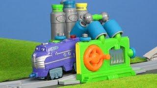 CHUGGINGTON die Loks sind Los deutsch: Bastian & Wilson Waschanlage für Züge | Chuggington deutsch