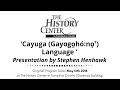 Cayuga Language Presentationmp3