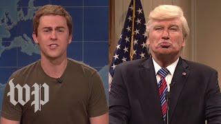 """SNL"" goes after Trump, Zuckerberg"