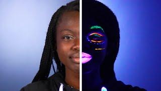 We Tried Glow-In-The-Dark Makeup