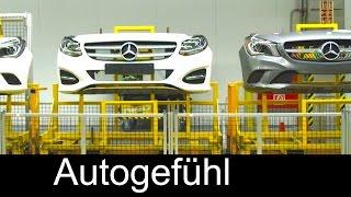 Mercedes CLA & B-Class production in plant Kecskemet, Hungary - Autogefühl
