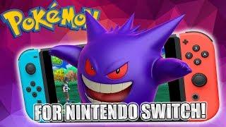 POKÉMON auf der Nintendo Switch - so stell ich mir das vor!
