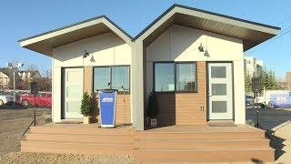 Tiny homes helping homeless veterans